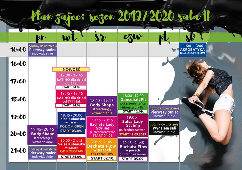 grafik-zajec-tanecznych-sezon-2019-2020-sala-II-www