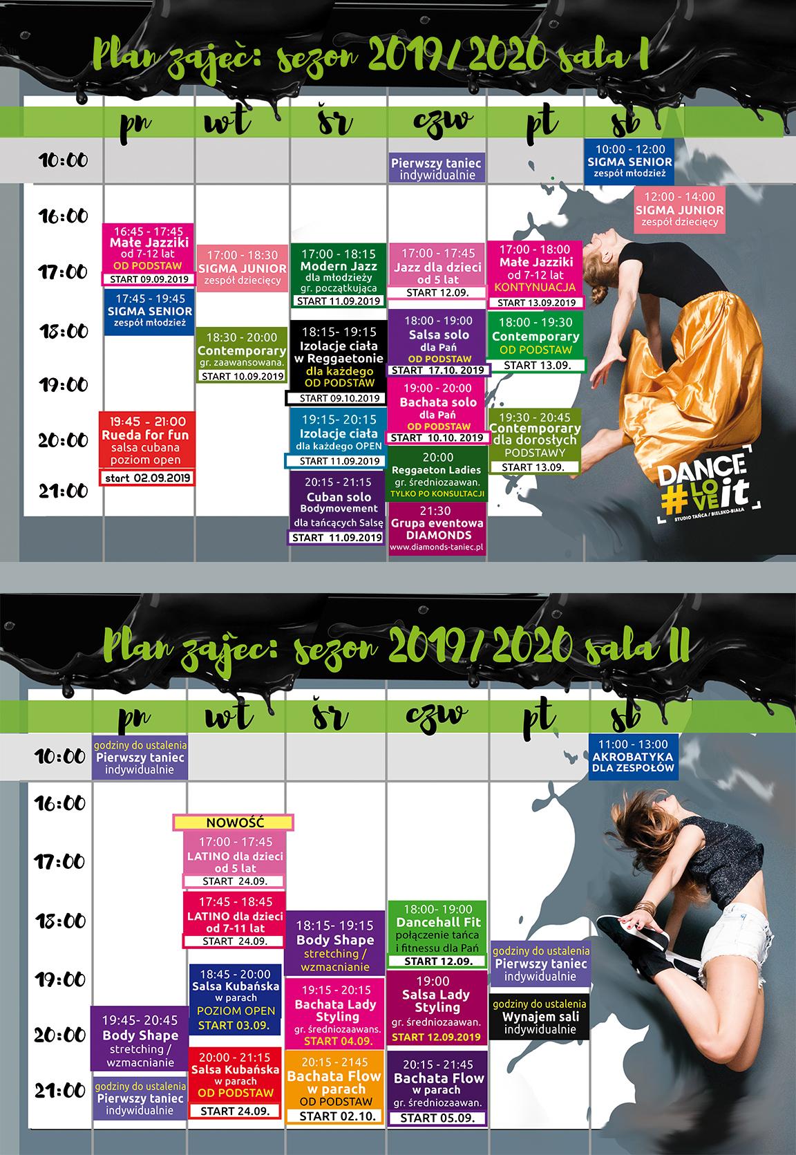 zestawienie-obydwu-sal-sezon-2019-2020-danceloveit-szkola-tanca-bielsko-biala-zapisy