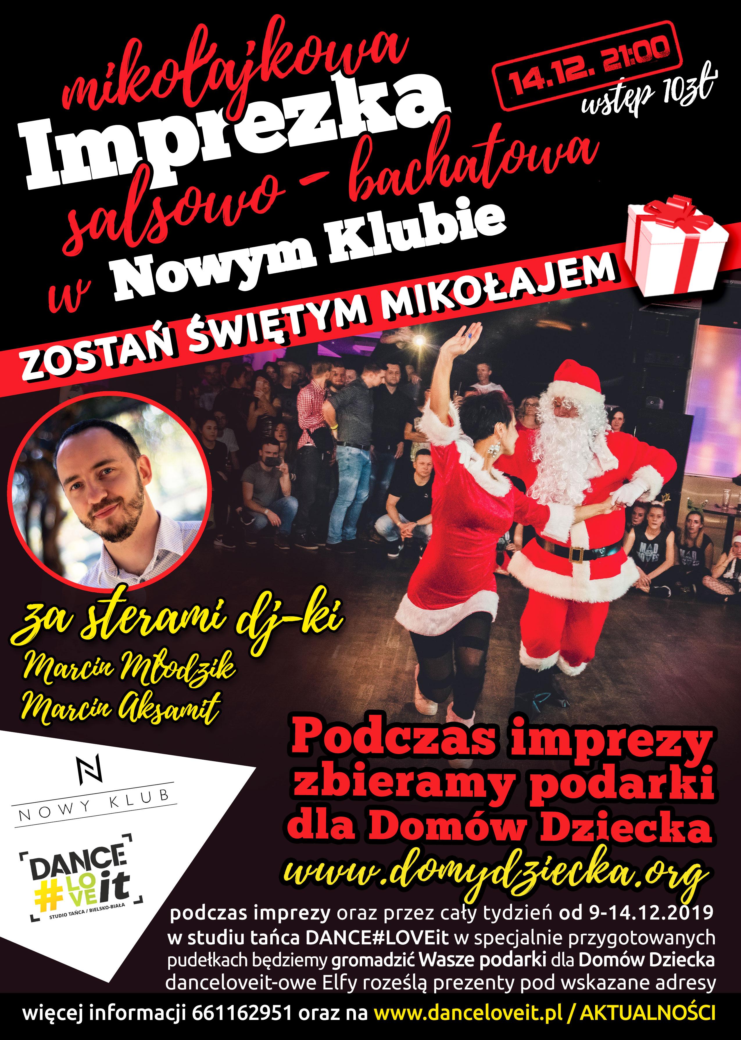 mikołajkowa-impreza-salsowo-bachatowa-w nowym-klubie-zbiórka-podarków-dla-domu-dziecka
