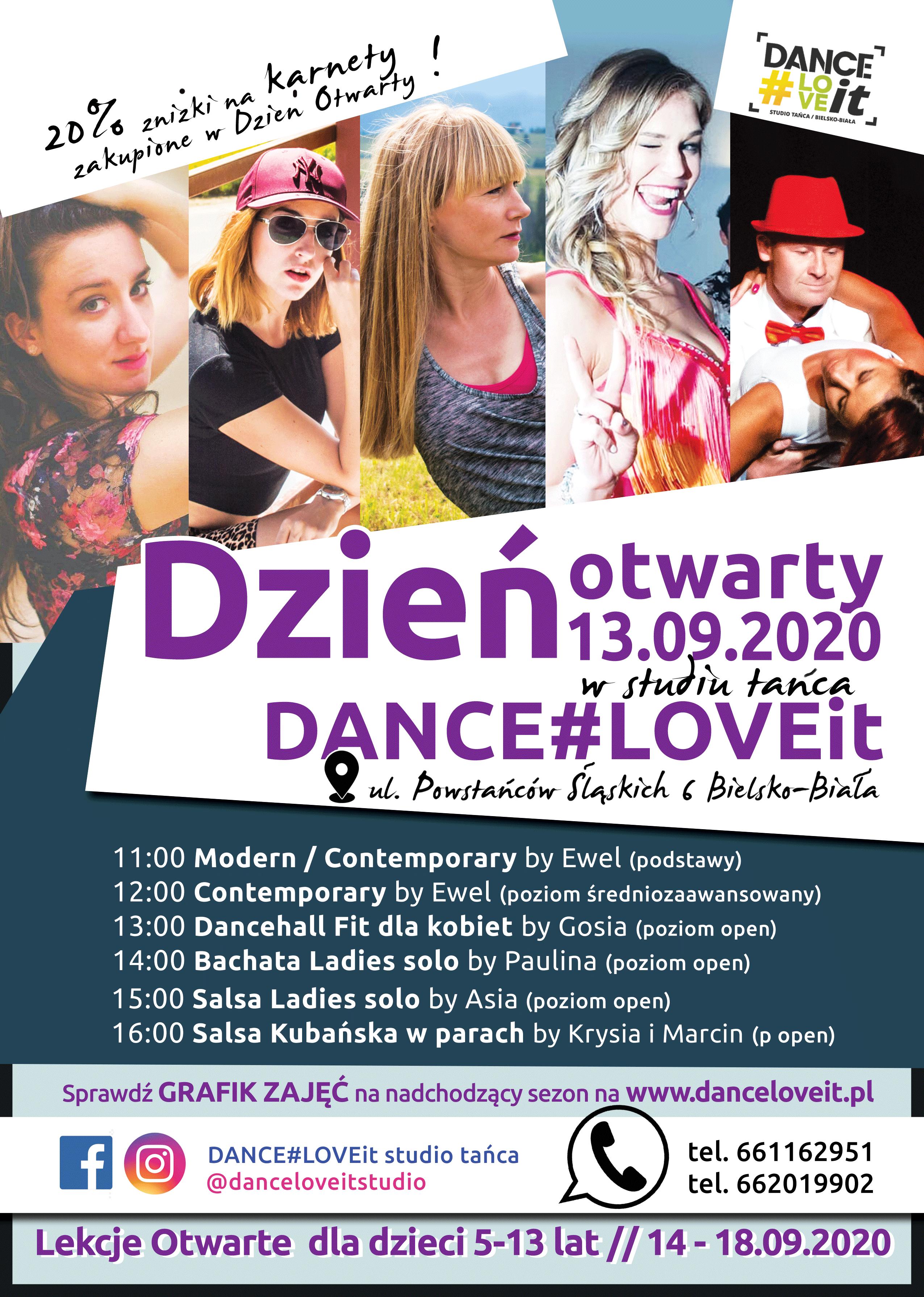 dzień-otwarty-drzwi-otwarte-bielsko-biala-szkola-tańca-dance-love-it-danceloveit-nowy-sezon