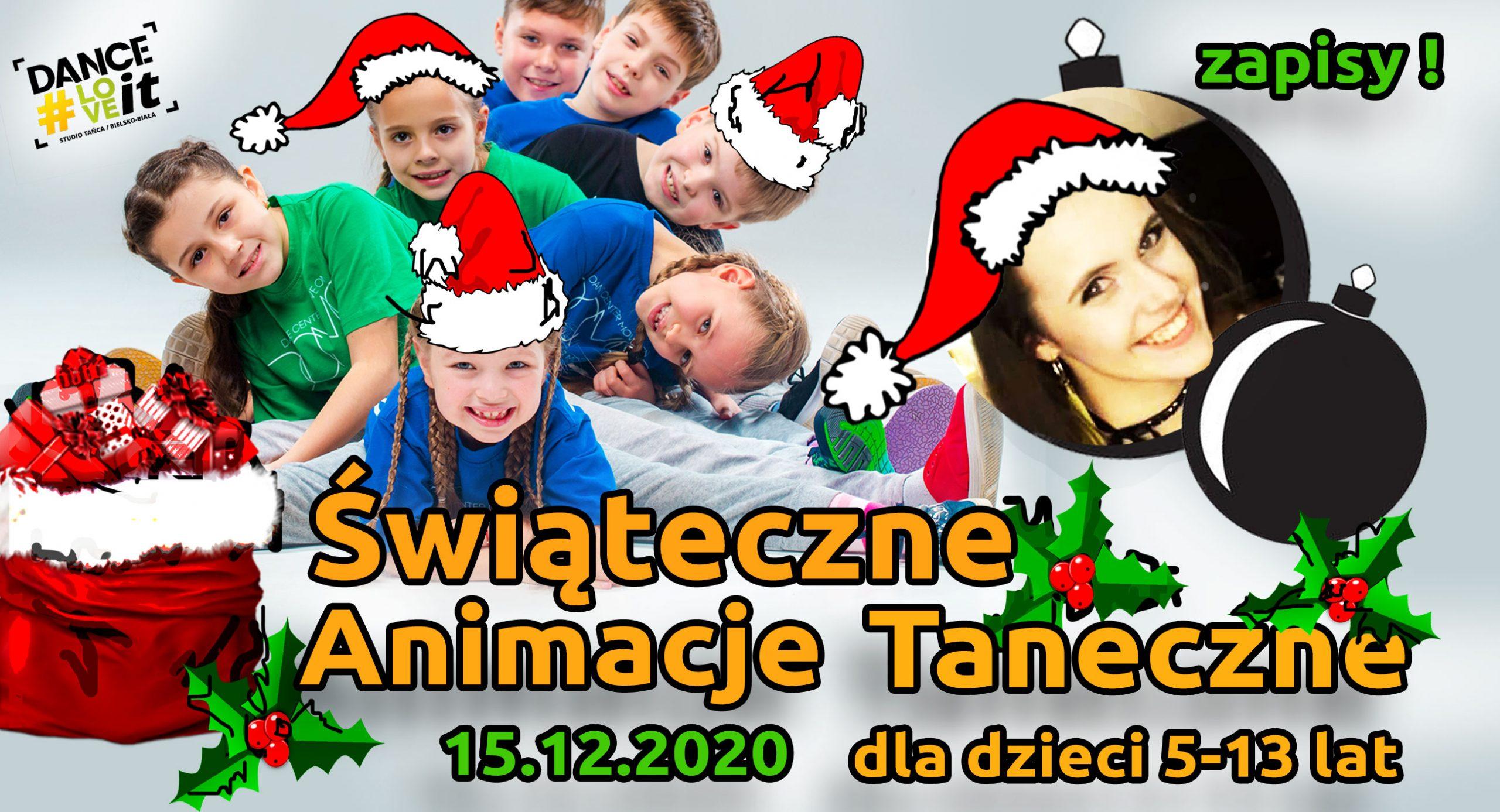 świąteczne-animacje-taneczne-dla-dzieci-danceloveit-bielsko-biala
