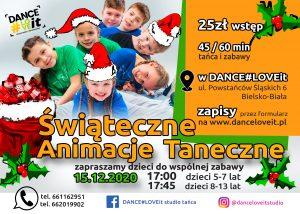 świąteczne-animacje-taneczne-dla-dzieci-mikołajki-danceloveit-szkoła-bielsko